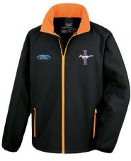 Offizielles Lizenziertes Ford Mustang Softshell-Rennjacke